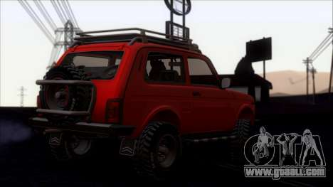 VAZ 2121 Niva Offroad for GTA San Andreas
