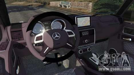 GTA 5 Mercedes-Benz G65 AMG v0.1 [Alpha] right side view
