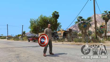 GTA 5 Shield Captain America
