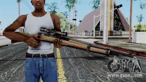 Kar98k Scope from Battlefield 1942 for GTA San Andreas third screenshot
