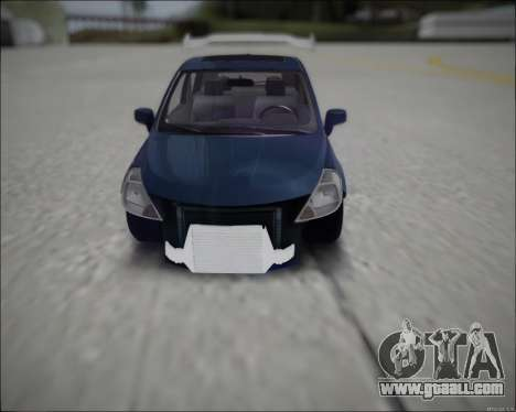Nissan Tiida Drift Korch for GTA San Andreas right view