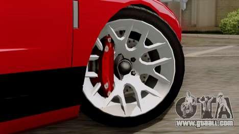 Vapid Bullet GT-GT3 for GTA San Andreas back left view
