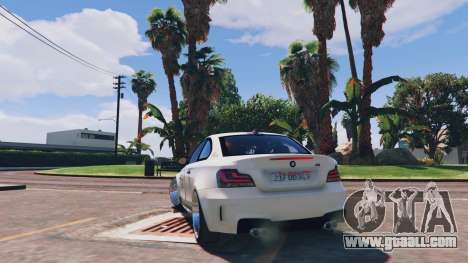 GTA 5 BMW 1M v1.0 rear left side view