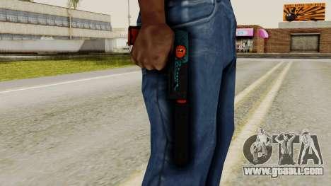 USP-S Caiman for GTA San Andreas third screenshot