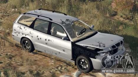GTA 5 Daewoo Nubira I Wagon US 1999 - FINAL version steering wheel