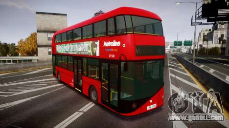 Wrightbus New Routemaster Metroline for GTA 4