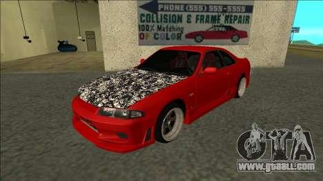 Nissan Skyline R33 Fairlady for GTA San Andreas