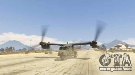 GTA 5 CV-22B Osprey (VTOL) fifth screenshot