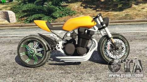 Honda CB 1800 Cafe Racer Paint for GTA 5