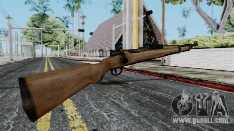 Kar98k from Battlefield 1942 for GTA San Andreas second screenshot