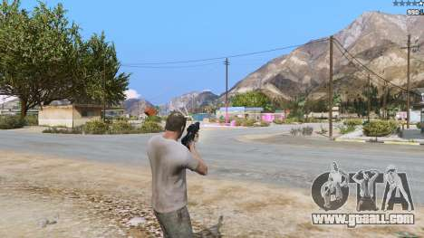 GTA 5 Laser Rocket Mod V5 third screenshot