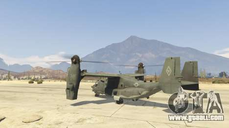 GTA 5 CV-22B Osprey (VTOL) second screenshot