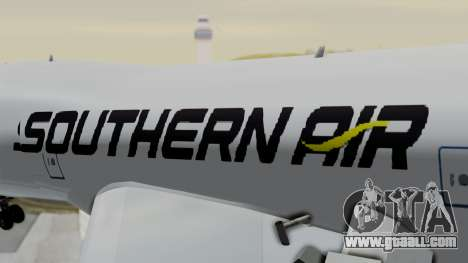 Boeing 747 Southern Air for GTA San Andreas back view