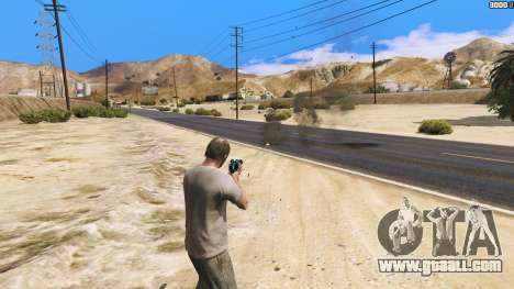 GTA 5 Increased effects of hits second screenshot