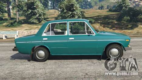 GTA 5 VAZ-2106 v0.2 left side view