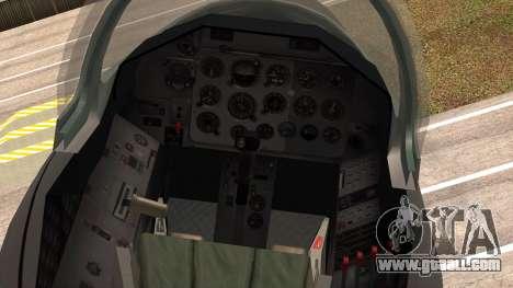 Aero L39 ZA Albatros - Nr. 146 (Romania) for GTA San Andreas right view