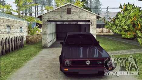 Volkswagen Golf Mk2 Line for GTA San Andreas left view