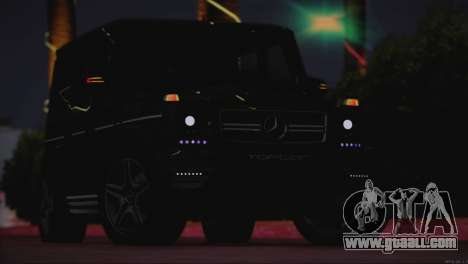 Mercedes Benz G65 AMG 2015 Topcar Tuning for GTA San Andreas inner view