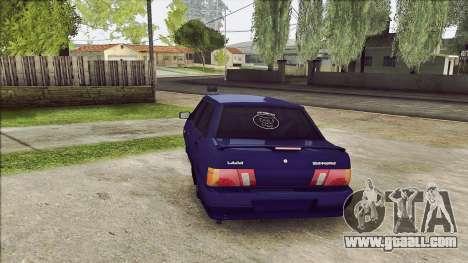 VAZ 2115 for GTA San Andreas back left view