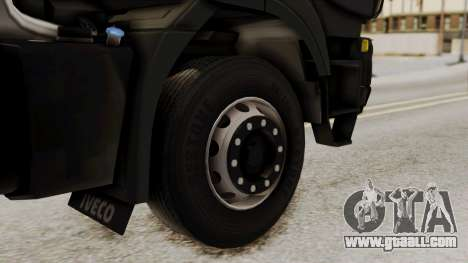 Volvo Truck from ETS 2 for GTA San Andreas back left view
