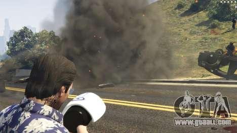 GTA 5 Cinematic Explosion FX 1.12a sixth screenshot