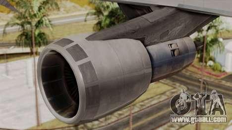 Boeing 747 TransAero for GTA San Andreas right view