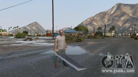 GTA 5 Buster Sword