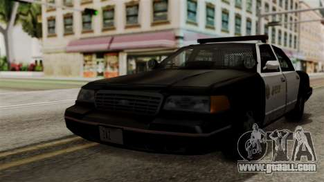 Ford Crown Victoria LP v2 Sheriff for GTA San Andreas
