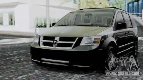 Dodge Grand Caravan 2010 for GTA San Andreas