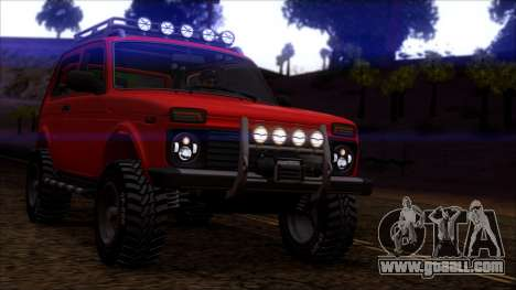 VAZ 2121 Niva Offroad for GTA San Andreas left view