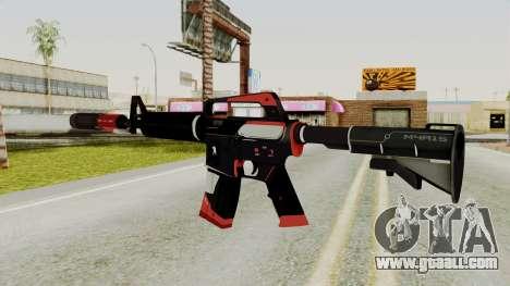 M4A1-S Cyrex for GTA San Andreas second screenshot