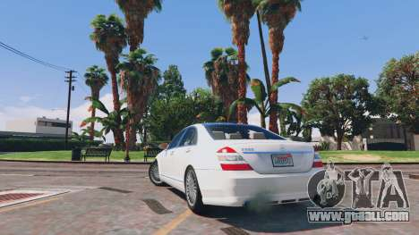 Mercedes-Benz S-Class W221 v0.5.3 for GTA 5