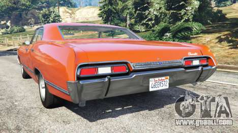 GTA 5 Chevrolet Impala 1967 rear left side view