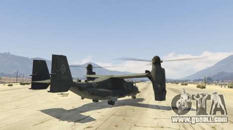 GTA 5 CV-22B Osprey (VTOL) third screenshot