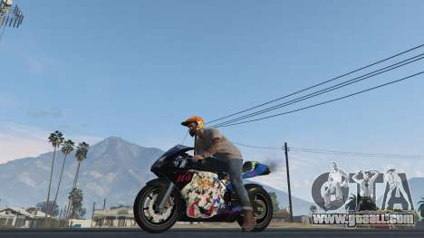 Pegassi Bati 801RR Anime Texture Pack for GTA 5