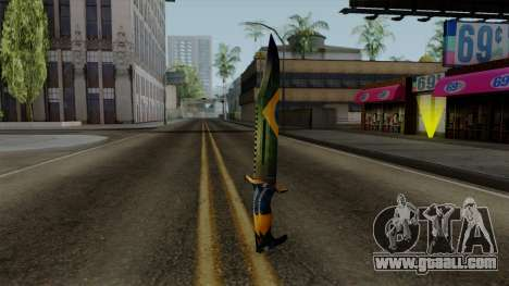 Brasileiro Knife v2 for GTA San Andreas second screenshot