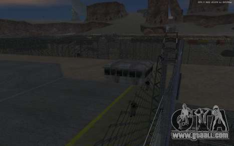 New Military Base v1.0 for GTA San Andreas tenth screenshot