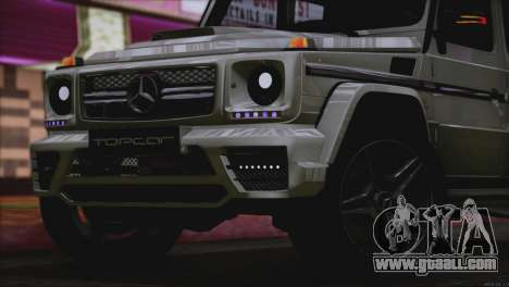 Mercedes Benz G65 AMG 2015 Topcar Tuning for GTA San Andreas upper view