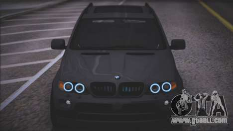BMW X5 E53 for GTA San Andreas upper view