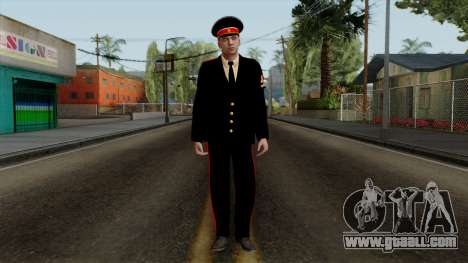 Vice-Sergeant Kazan VCA v2 for GTA San Andreas second screenshot