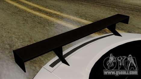 Audi R8 v1.0 Edition Liberty Walk for GTA San Andreas back view