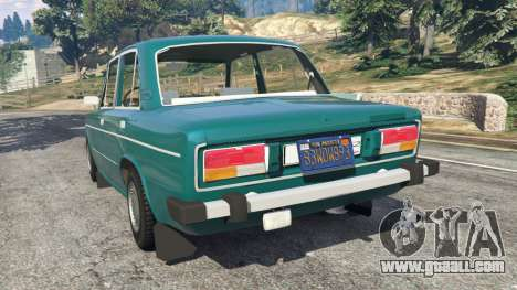 GTA 5 VAZ-2106 v0.2 rear left side view