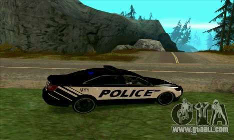 Federal Police Ford Taurus HSO for GTA San Andreas left view