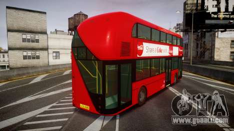 Wrightbus New Routemaster Stagecoach for GTA 4 back left view