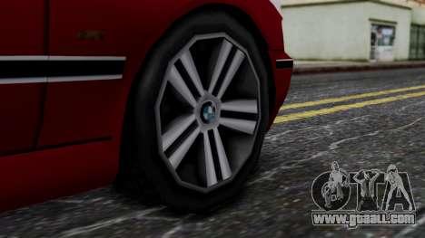BMW M5 E39 SA Style for GTA San Andreas back left view