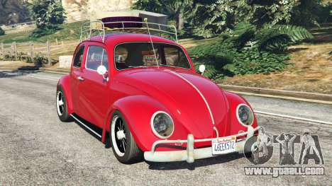 Volkswagen Beetle 1963 [Beta] for GTA 5