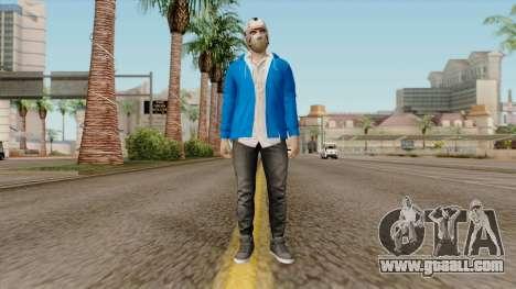 H2O Delirious Skin for GTA San Andreas second screenshot