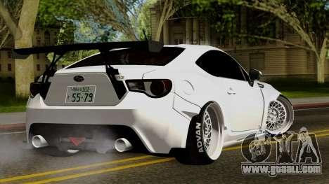 Subaru BRZ 2010 Rocket Bunny v1 for GTA San Andreas left view