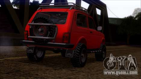 VAZ 2121 Niva Offroad for GTA San Andreas right view