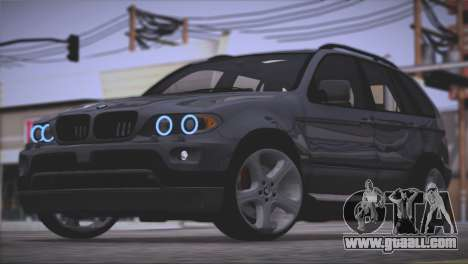 BMW X5 E53 for GTA San Andreas